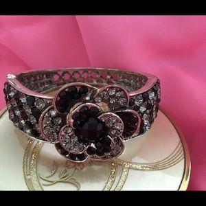 Stunning Black and Silver Bracelet